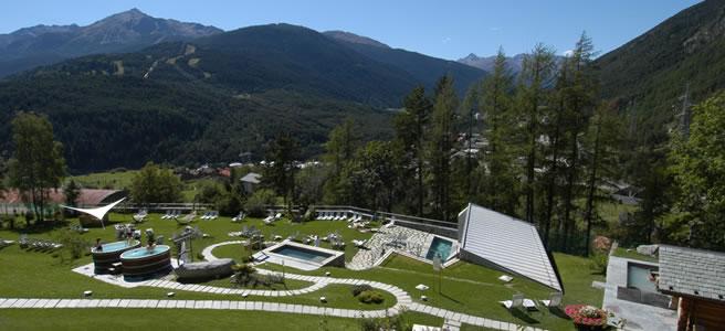 Weekend di relax alle terme di bormio viaggi e vacanze - Grand hotel bagni nuovi ...