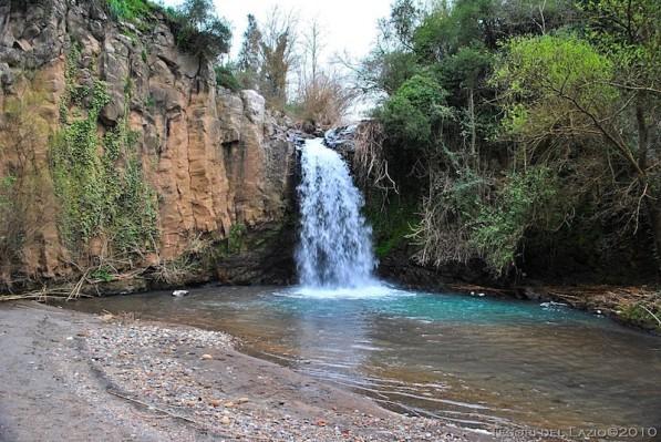 Cascata del Pellico sul fosso timone
