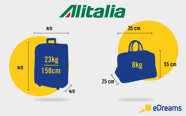 Alitalia misure bagaglio
