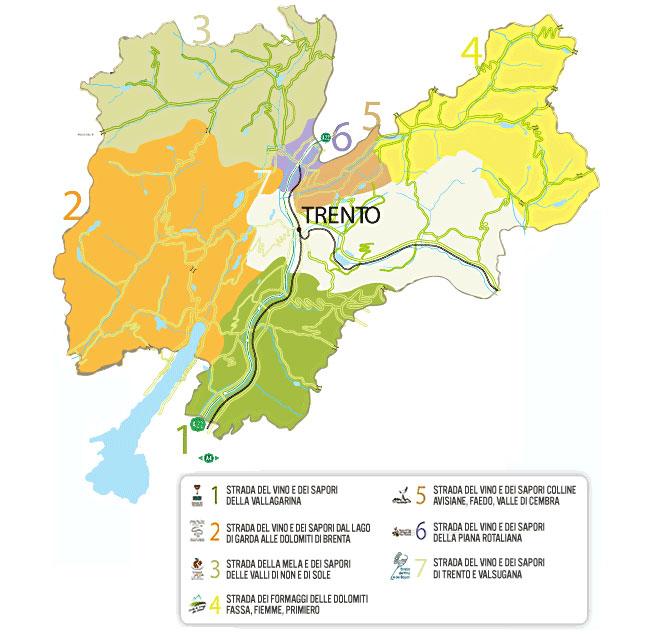 Cartina Stradale Del Trentino Alto Adige.Weekend Del Gusto In Trentino Viaggi E Vacanze