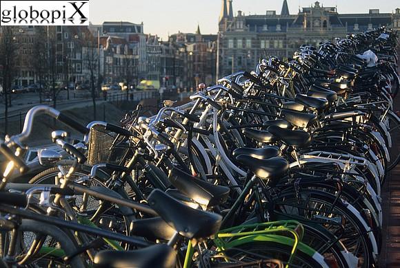 Le biciclette di Amsterdam