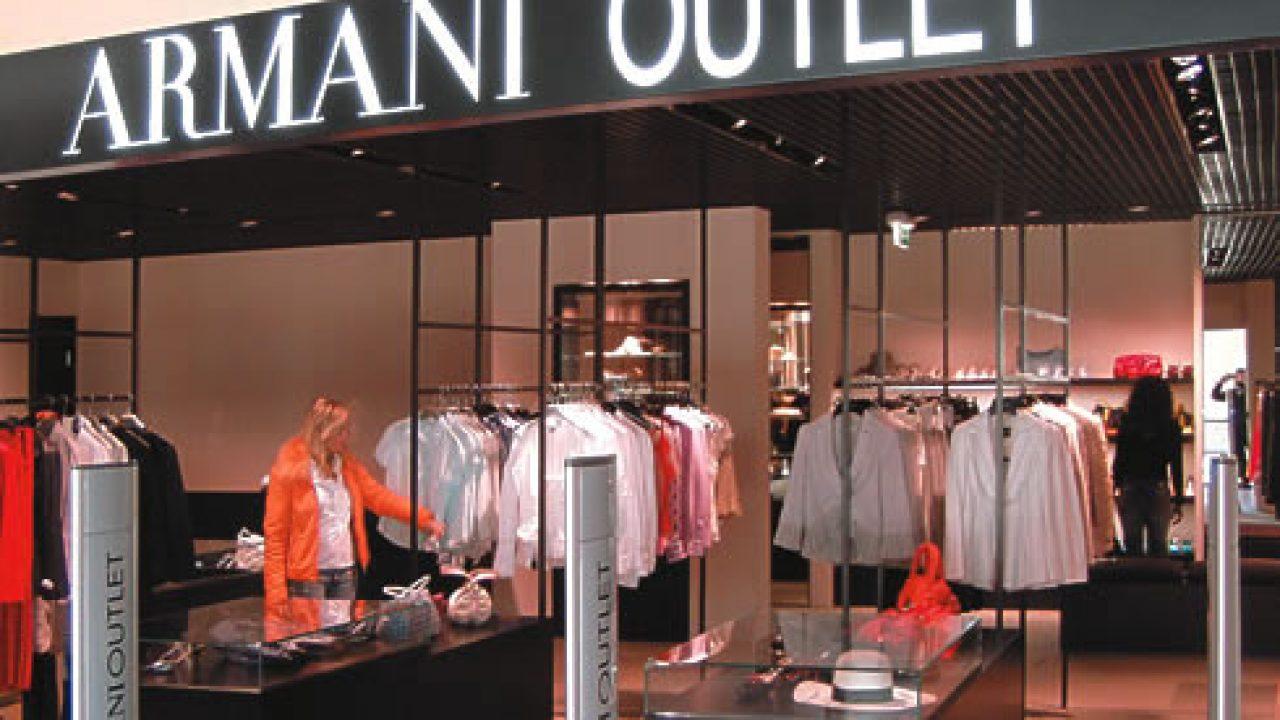 Spacci moda: dove vendono a prezzi scontati le grandi griffe ...