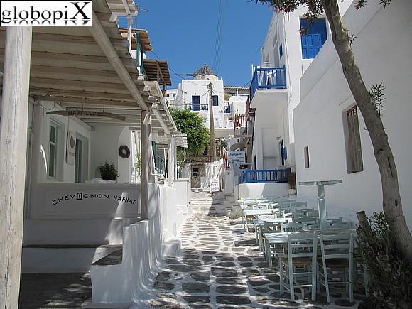 Chora Mykonos Grecia