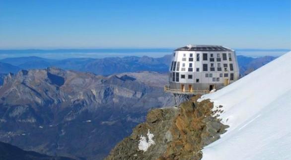 Nuovo rifugio  del Goûter Monte Bianco
