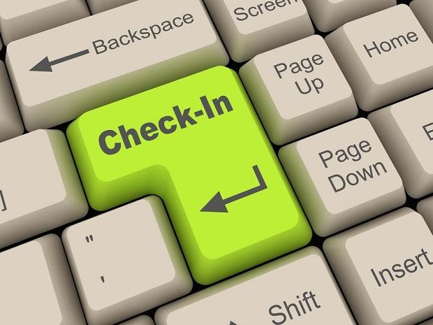 come effettuare il check in on line