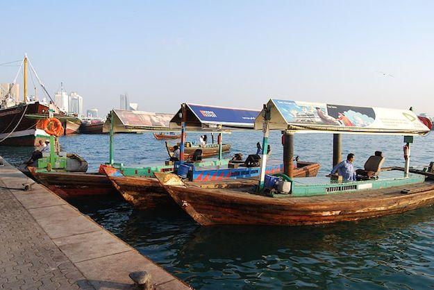 come spostarsi via mare a Dubai