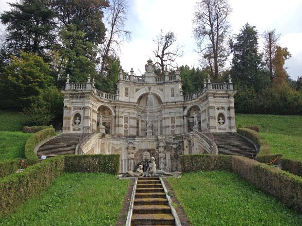 Il Belvedere Superiore con la Fontana del Mascherone