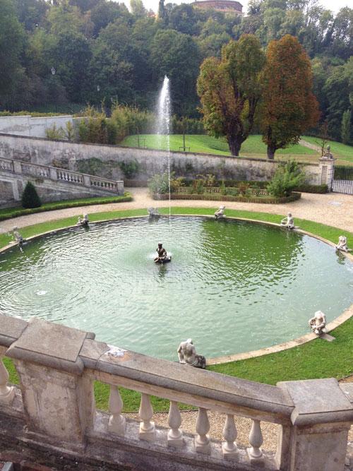 Villa della regina fontana del Gran Rondeau