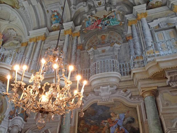 Il Salone principale della Villa della Regina