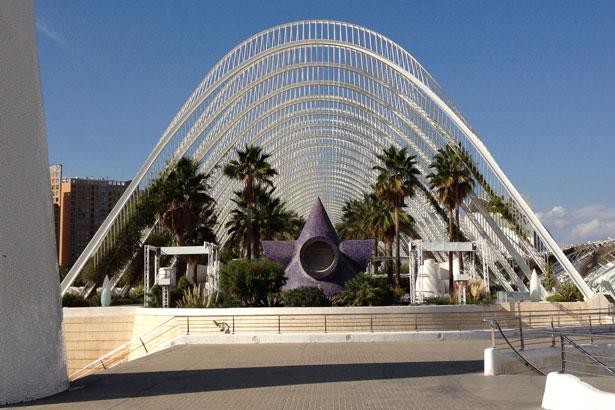 Valencia in tre giorni - Umbracle