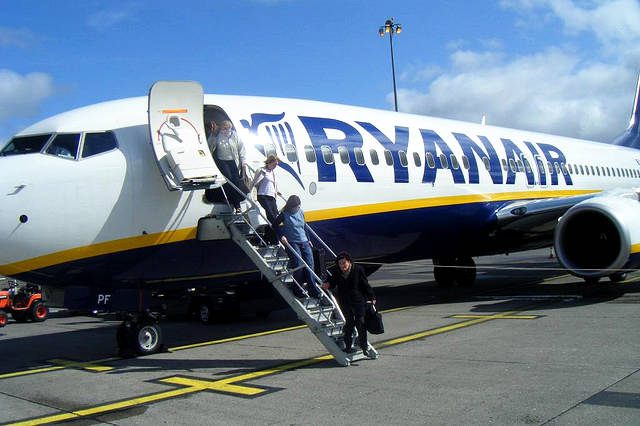 Check in online con Ryanair