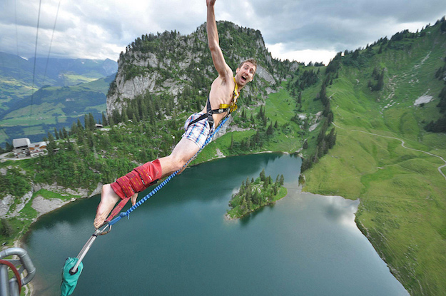 bungee jumping in Italia