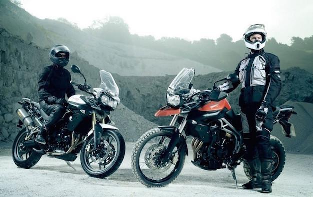 viaggiare in moto in inverno