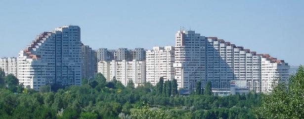 Moldavia, la capitale Chisianu