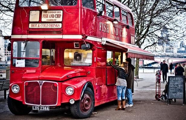 Street food a Londra