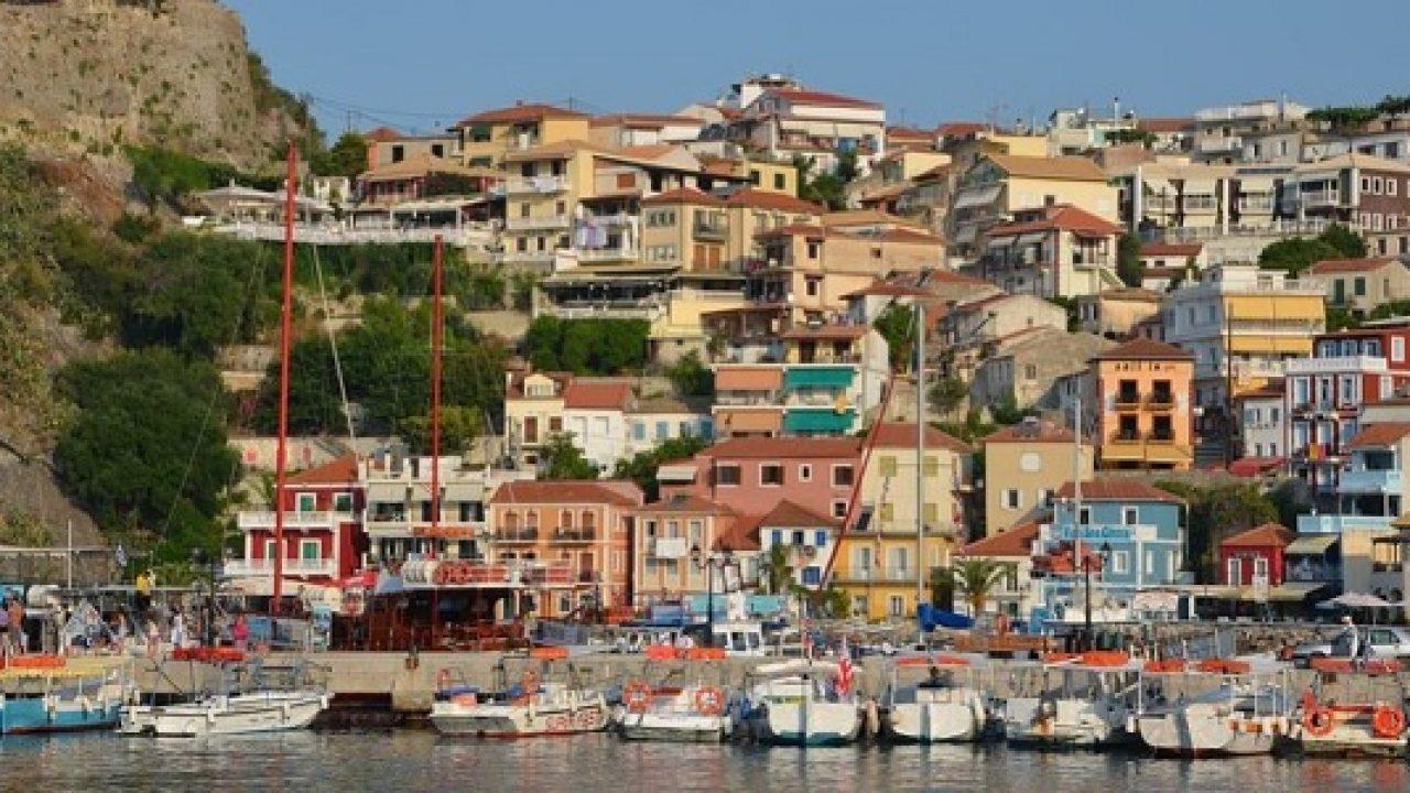 Cartina Puglia Grecia.Parga Grecia Mappa E Spiagge Viaggi E Vacanze