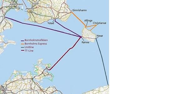 Isola di Bornholm: come arrivare