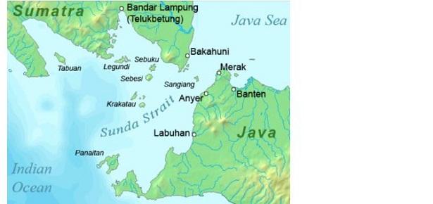Isole della sonda: mappa