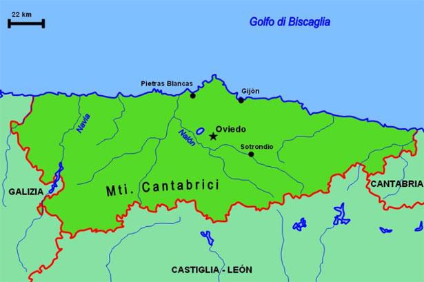 asturie mappa