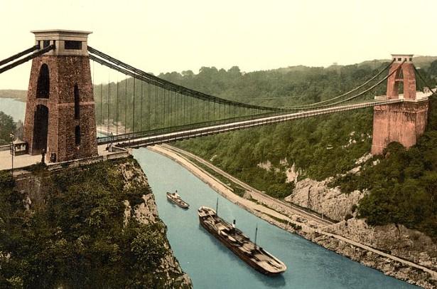 Ponte sospeso di Cliff Bristol