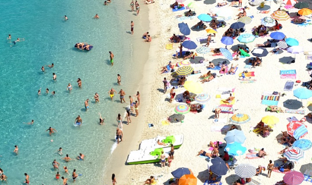spiagge affollate