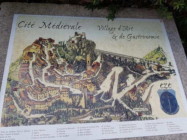 eze village mappa